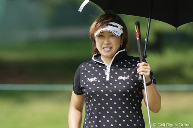 2009年 全米女子オープン 3日目 福嶋晃子 じわじわと順位を上げている。最終日、一気に上位へ食い込めるか?