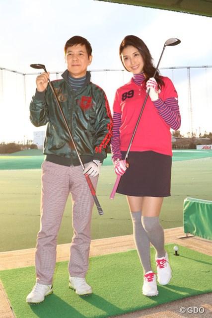 2016年 LPGA女子ゴルフツアー2016開幕スペシャル 橋本マナミ、関根勤
