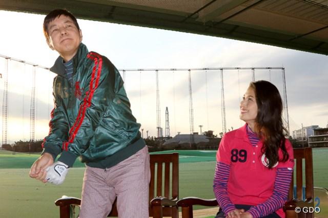 「学びたい」とリディア・コーの無表情ぶりをマネる関根勤さん。橋本マナミさんと番組を盛り上げる!
