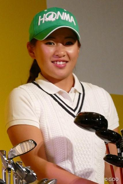 高校卒業を前にプロ転向を表明した永井花奈