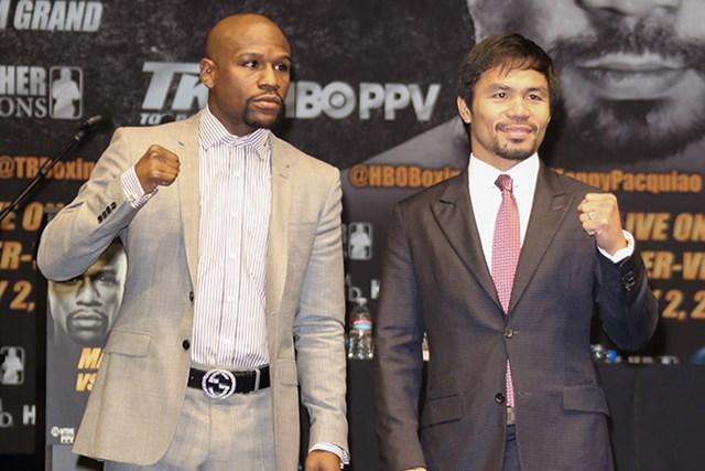 スポーツ選手の長者番付で1位、2位を独占するボクシング界の英雄2人(Getty Images)