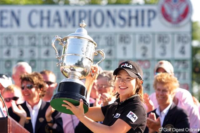 2009年 全米女子オープン 最終日 ジ・ウンヒ 韓国のジ・ウンヒがメジャー初タイトルを獲得!
