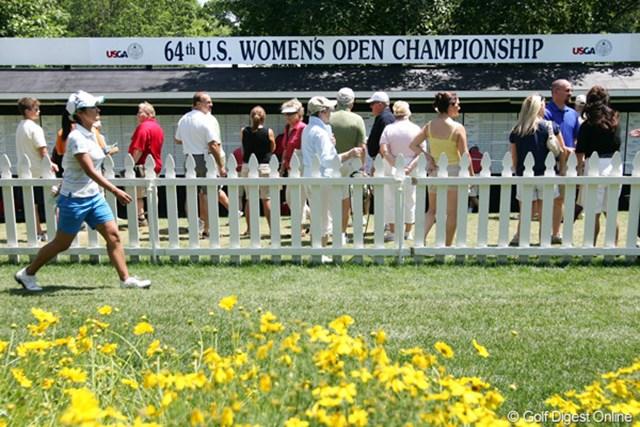 2009年 全米女子オープン 最終日 宮里藍 最終日、納得のゴルフで気持ちよくコースを去ることができた