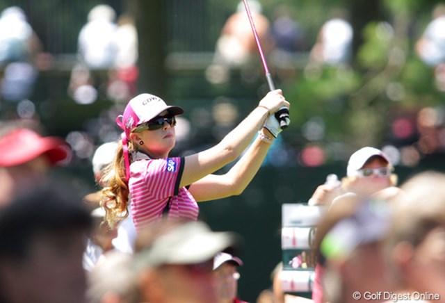 2009年 全米女子オープン 最終日 ポーラ・クリーマー アンダーパーでプレーし、6位タイに浮上!