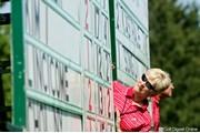 2009年 全米女子オープン 最終日 リーダーボード