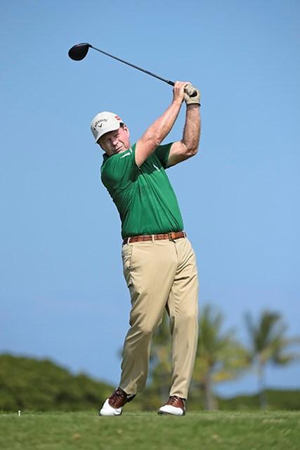 66歳のトム・ワトソンはエージシュートで5位に浮上した(Chris Condon/PGA TOUR)