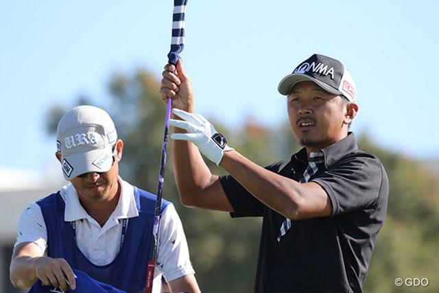 日本勢ではただ一人岩田寛が決勝ラウンドに進出した