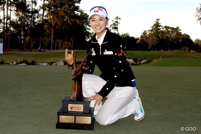 前年大会はチェ・ナヨンが3シーズンぶりの優勝を飾った