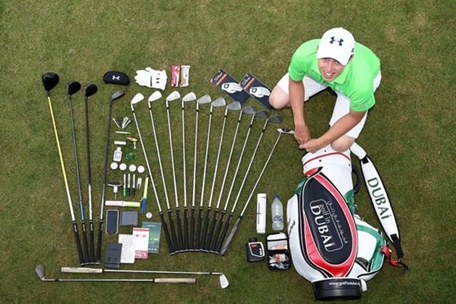 プロゴルファーのバッグの中身は?開けてみれば、実に多くの物が入っている(European Tour)