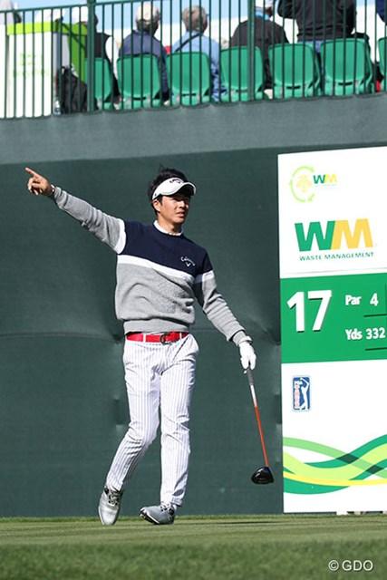 今週は欠場することになった石川遼※撮影は「ウェイストマネジメント フェニックスオープン」2日目
