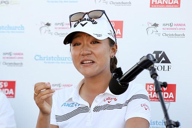 リディア・コーは母国のナショナルオープンで連覇を果たし、涙を流した(Martin Hunter/Getty Images)