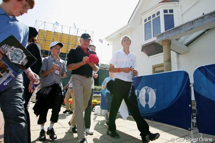昨年の活躍を、今年も? 2009年 全英オープン事前 グレッグ・ノーマン