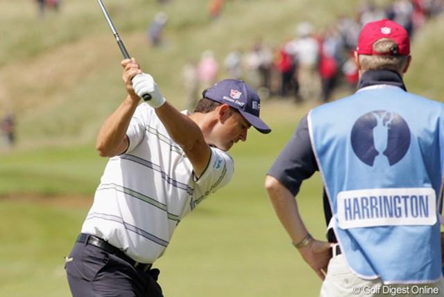 2009年 全英オープン事前 パドレイグ・ハリントン 調子は今ひとつだが、ぜひ3連覇を狙ってほしい