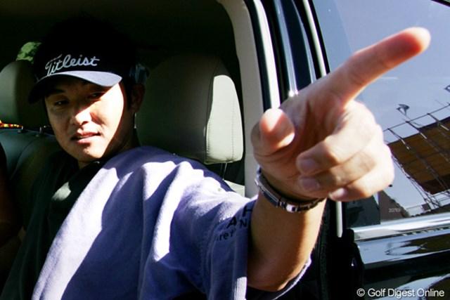 2009年 全英オープン事前 今田竜二 「明日から、見てろ!」