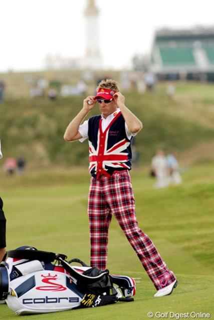 2009年 全英オープン初日 イアン・ポールター イギリス代表?