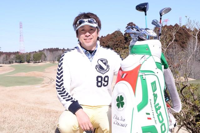 カレドニアン・ゴルフクラブ_1_7 N村の最後のパートナーは大本研太郎プロ。1974年1月18日生まれ。パッティングの指導には定評があり、関連書籍も多数上梓
