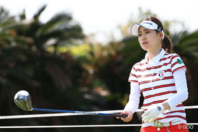 かつては女子ゴルフ界を席巻。レギュラーツアーに久々に登場した竹村真琴が6位発進を決めた