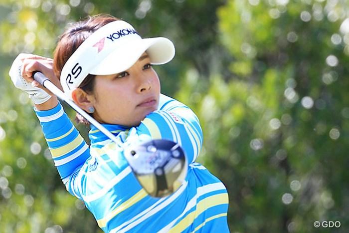 今シーズンYOKOHAMA PRGR契約 2016年 ダイキンオーキッドレディスゴルフトーナメント 初日 森田理香子