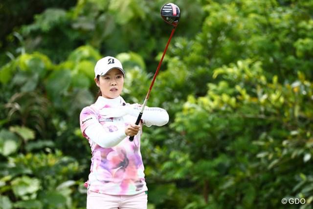 2016年 ダイキンオーキッドレディスゴルフトーナメント 2日目 西山ゆかり 今年の誓いは「5000万円」! 首位タイで週末を迎える西山ゆかり