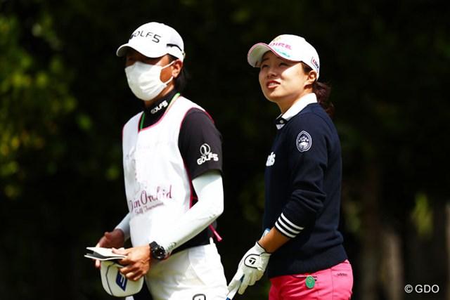 2016年 ダイキンオーキッドレディスゴルフトーナメント 2日目 永峰咲希 強風でのラウンドに永峰咲希は「判断が難しかった」