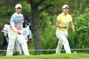 2009年 スタンレーレディスゴルフトーナメント 初日 永井奈都と茂木宏美