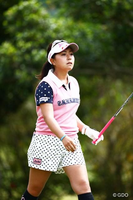 2016年 ダイキンオーキッドレディスゴルフトーナメント 2日目 青木瀬令奈 イーブンパーチャンスはあるよ