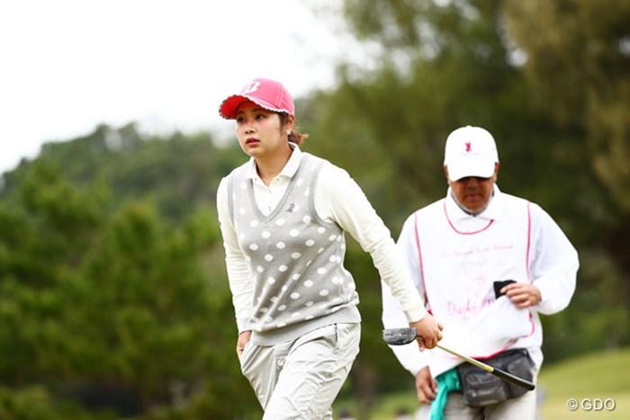 最終日どこまで頑張るか期待 2016年 ダイキンオーキッドレディスゴルフトーナメント 3日目 河野美桜