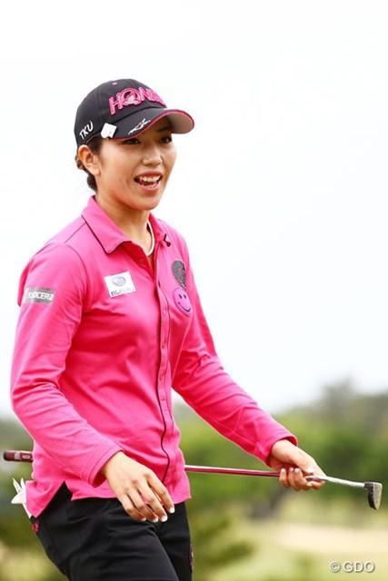 2016年 ダイキンオーキッドレディスゴルフトーナメント 3日目 笠りつ子 3アンダー5位タイ