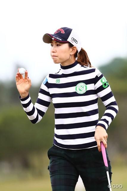 2016年 ダイキンオーキッドレディスゴルフトーナメント 3日目 上田桃子 明日巻き返してね