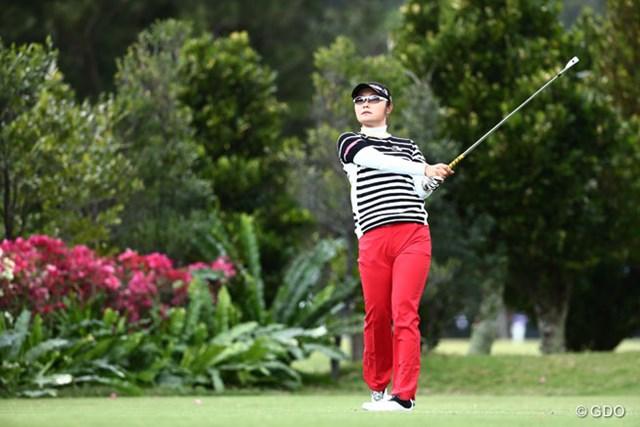 2016年 ダイキンオーキッドレディスゴルフトーナメント 3日目 藤田さいき 69でまわり5位タイに浮上