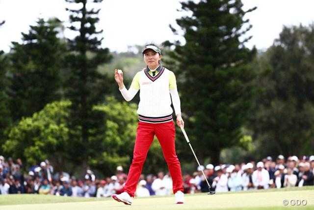 2016年 ダイキンオーキッドレディスゴルフトーナメント 最終日 テレサ・ルー 大会史上初の連覇を達成したテレサ・ルー