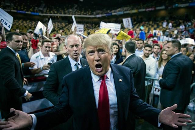 いま世界で最も注目を集める男ドナルド・トランプ氏(Jabin Botsford/The Washington Post via Getty Images)