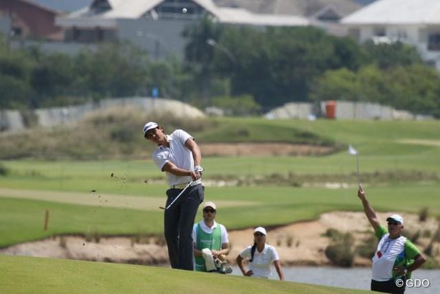 現在、PGAツアー・ラテンアメリカをプレーするラファエル・ベッカー。2010年からブラジルアマチュア選手権を3連覇した期待の24歳