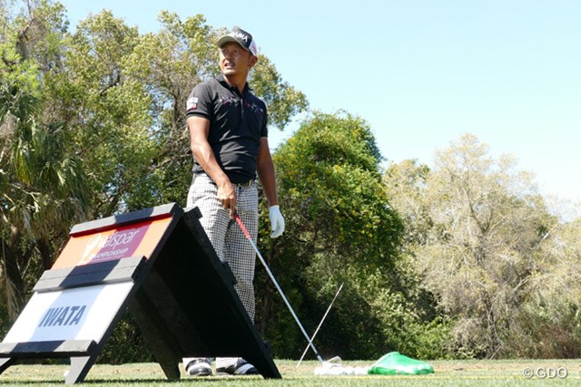 2016年 バルスパー選手権 事前 岩田寛 ニューアイアンを携えて準備完了。岩田寛は2週ぶりの試合に臨む