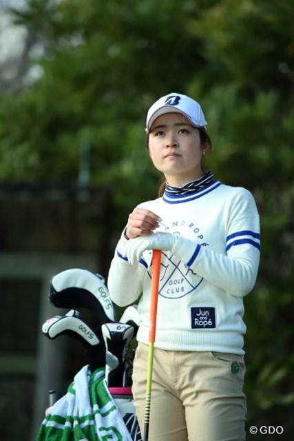 2016年 ヨコハマタイヤゴルフトーナメント PRGRレディスカップ 初日 三ヶ島かな 19歳が好発進。2アンダー4位で初日を終えた三ヶ島かな
