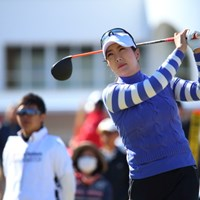 今年からジャパンツアーに参戦 2016年 ヨコハマタイヤゴルフトーナメント PRGRレディスカップ 2日目 金ソヨン