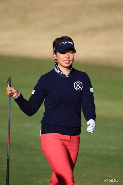 2016年 ヨコハマタイヤゴルフトーナメント PRGRレディスカップ 2日目 森田理香子 手応えはあった。