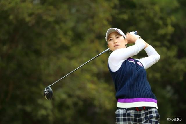 2016年 ヨコハマタイヤゴルフトーナメント PRGRレディスカップ 最終日 上田桃子 今日はあと少し届かなかったけれど。