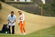 2016年 ヨコハマタイヤゴルフトーナメント PRGRレディスカップ 最終日 イ・ボミ&清水重憲キャディ
