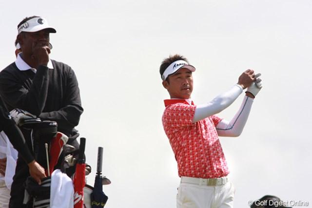 2009年 全英オープン3日目 久保谷健一 明日の最終日もシンと同組。