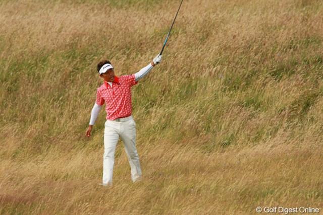 2009年 全英オープン3日目 久保谷健一 崩れはしたが、巻き返しに期待。