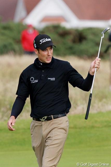 2009年 全英オープン3日目 ロス・フィッシャー 2位タイに付け、イギリスの期待を背負う。