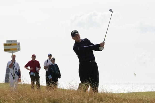 2009年 全英オーープン 3日目 全英オープン5勝のベテランは、風の読みもピッタリだ