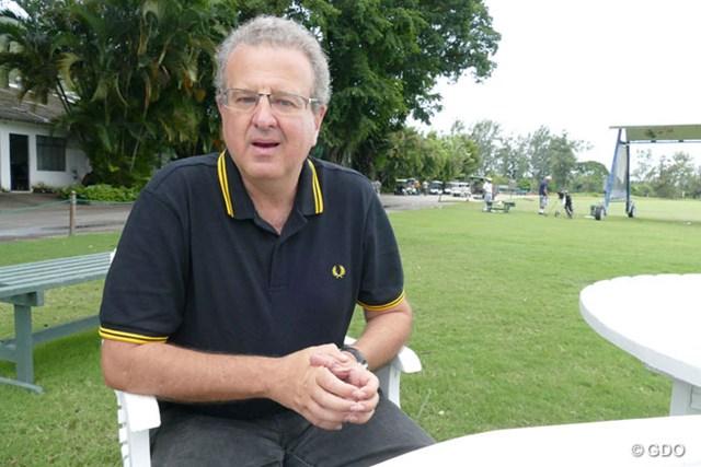 リオデジャネイロゴルフ連盟のマリオ・バヨウト会長 イタニャンガGCのメンバーでありリオデジャネイロゴルフ連盟の会長であるマリオ・バヨウト氏