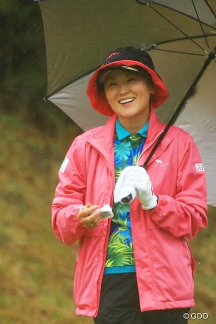 2016年 Tポイントレディス ゴルフトーナメント 初日 北田瑠衣 Tポイントレディス初代女王はイーブンパースタート。
