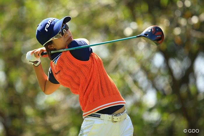 大江香織と契約を結ぶヤマハにとっても大きな優勝となった 2016年 Tポイントレディス ゴルフトーナメント 最終日 大江香織