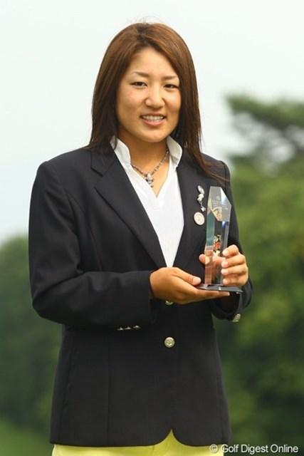 ベストアマを獲得した藤本麻子。今月末のプロテストに向けて弾みがついたはず