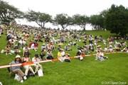 2009年 スタンレーレディスゴルフトーナメント 最終日 18番グリーンサイド