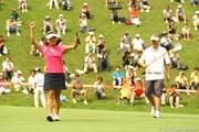 2009年 スタンレーレディスゴルフトーナメント 最終日 有村智恵