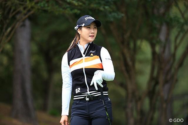 2016年 アクサレディスゴルフトーナメント in MIYAZAKI 初日 キム・ハヌル キム・ハヌルが3戦連続で首位発進を決めた